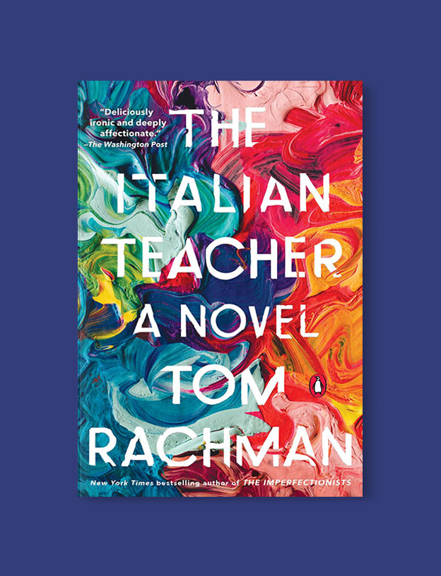 Best Book Covers 2018, The Italian Teacher by Tom Rachman - book covers, book covers 2018, book design, best book covers, best book design, cover design, best covers, book cover design, book designers, design inspiration, cover design inspiration, book cover ideas, book design ideas, cover design ideas, book typography, book cover typography, book cover illustration, book cover design ideas