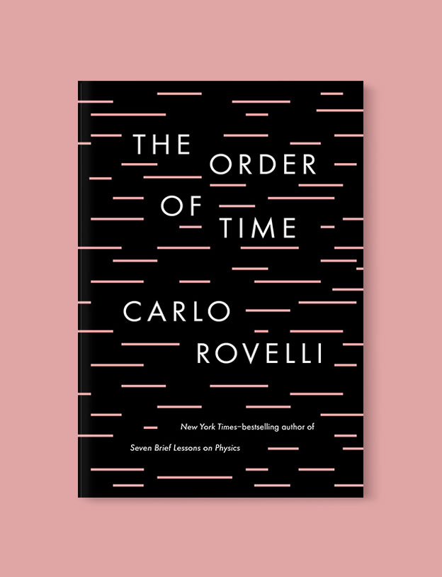 Best Book Covers 2018, The Order of Time by Carlo Rovelli - book covers, book covers 2018, book design, best book covers, best book design, cover design, best covers, book cover design, book designers, design inspiration, cover design inspiration, book cover ideas, book design ideas, cover design ideas, book typography, book cover typography, book cover illustration, book cover design ideas