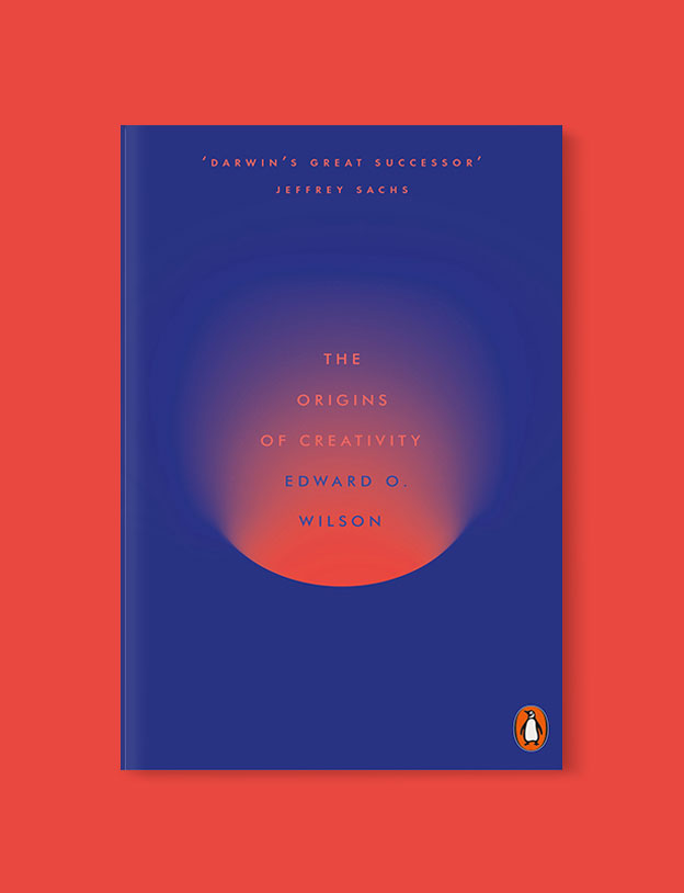 Best Book Covers 2018, The Origins of Creativity by Edward O. Wilson - book covers, book covers 2018, book design, best book covers, best book design, cover design, best covers, book cover design, book designers, design inspiration, cover design inspiration, book cover ideas, book design ideas, cover design ideas, book typography, book cover typography, book cover illustration, book cover design ideas