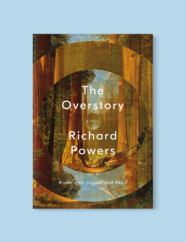 Best Book Covers 2018, The Overstory by Richard Powers - book covers, book covers 2018, book design, best book covers, best book design, cover design, best covers, book cover design, book designers, design inspiration, cover design inspiration, book cover ideas, book design ideas, cover design ideas, book typography, book cover typography, book cover illustration, book cover design ideas