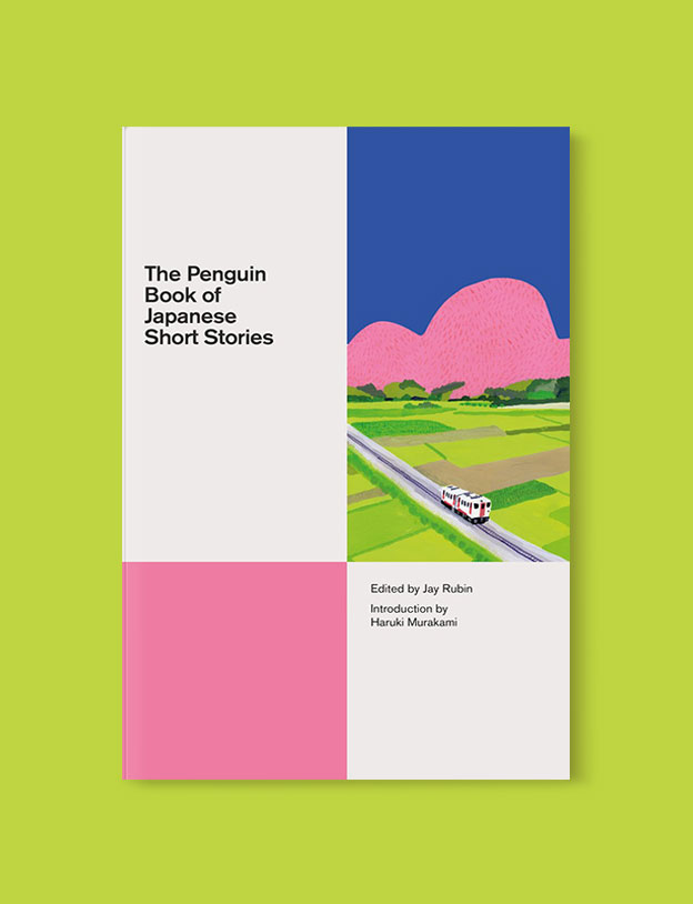 Best Book Covers 2018, The Penguin Book of Japanese Short Stories by Jay Rubin - book covers, book covers 2018, book design, best book covers, best book design, cover design, best covers, book cover design, book designers, design inspiration, cover design inspiration, book cover ideas, book design ideas, cover design ideas, book typography, book cover typography, book cover illustration, book cover design ideas