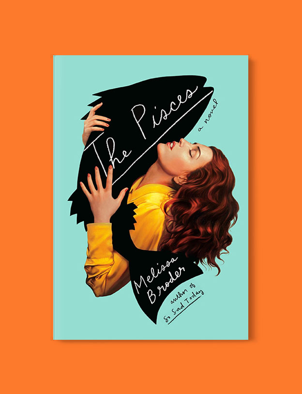 Best Book Covers 2018, The Pisces by Melissa Broder - book covers, book covers 2018, book design, best book covers, best book design, cover design, best covers, book cover design, book designers, design inspiration, cover design inspiration, book cover ideas, book design ideas, cover design ideas, book typography, book cover typography, book cover illustration, book cover design ideas