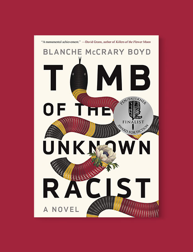Best Book Covers 2018, Tomb of the Unknown Racist by Blanche McCrary Boyd - book covers, book covers 2018, book design, best book covers, best book design, cover design, best covers, book cover design, book designers, design inspiration, cover design inspiration, book cover ideas, book design ideas, cover design ideas, book typography, book cover typography, book cover illustration, book cover design ideas