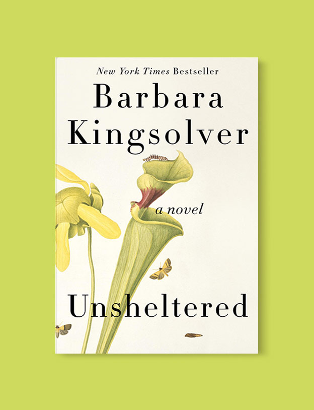 Best Book Covers 2018, Unsheltered by Barbara Kingsolver - book covers, book covers 2018, book design, best book covers, best book design, cover design, best covers, book cover design, book designers, design inspiration, cover design inspiration, book cover ideas, book design ideas, cover design ideas, book typography, book cover typography, book cover illustration, book cover design ideas