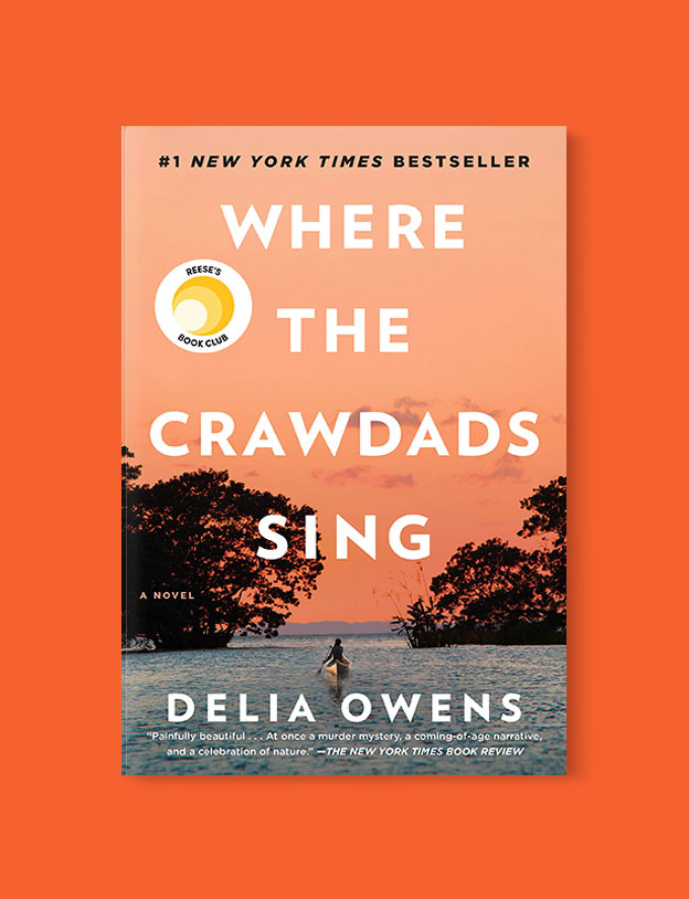 Best Book Covers 2018, Where the Crawdads Sing by Delia Owens - book covers, book covers 2018, book design, best book covers, best book design, cover design, best covers, book cover design, book designers, design inspiration, cover design inspiration, book cover ideas, book design ideas, cover design ideas, book typography, book cover typography, book cover illustration, book cover design ideas