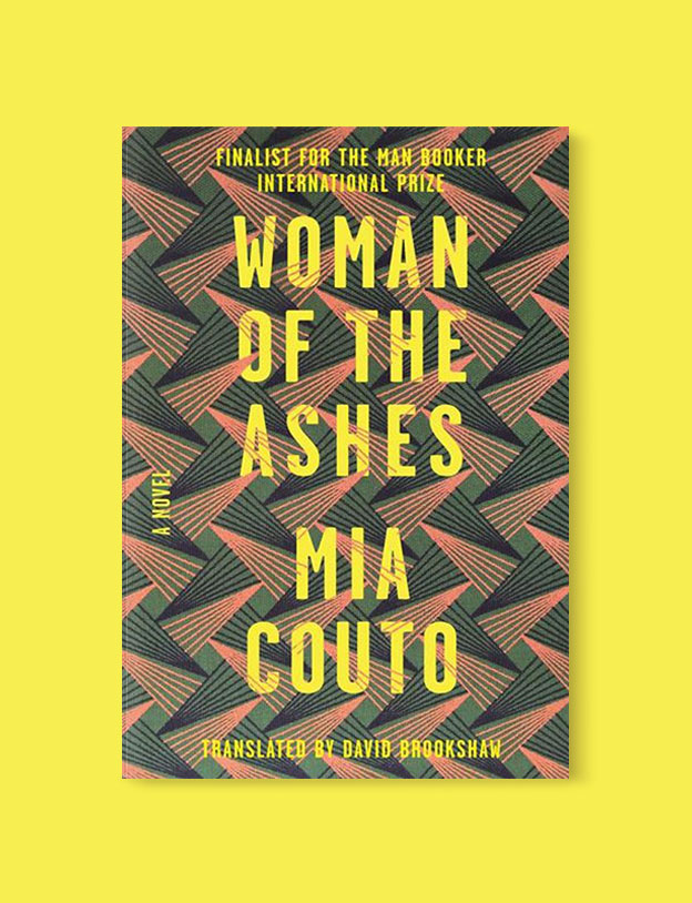 Best Book Covers 2018, Woman of the Ashes by Mia Couto - book covers, book covers 2018, book design, best book covers, best book design, cover design, best covers, book cover design, book designers, design inspiration, cover design inspiration, book cover ideas, book design ideas, cover design ideas, book typography, book cover typography, book cover illustration, book cover design ideas