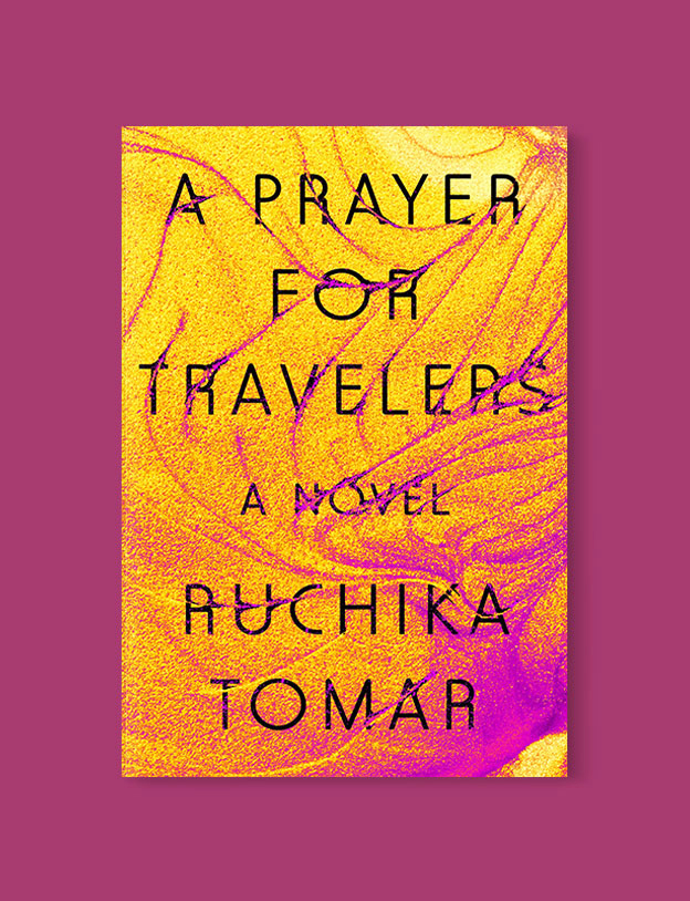 Best Book Covers 2019, A Prayer for Travelers by Ruchika Tomar - book covers, book covers 2019, book design, best book covers, best book design, cover design, best covers, book cover design, book designers, design inspiration, cover design inspiration, book cover ideas, book design ideas, cover design ideas, book typography, book cover typography, book cover illustration, book cover design ideas