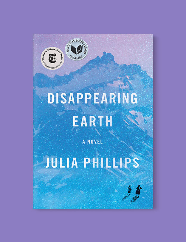 Best Book Covers 2019, Disappearing Earth by Julia Phillips - book covers, book covers 2019, book design, best book covers, best book design, cover design, best covers, book cover design, book designers, design inspiration, cover design inspiration, book cover ideas, book design ideas, cover design ideas, book typography, book cover typography, book cover illustration, book cover design ideas