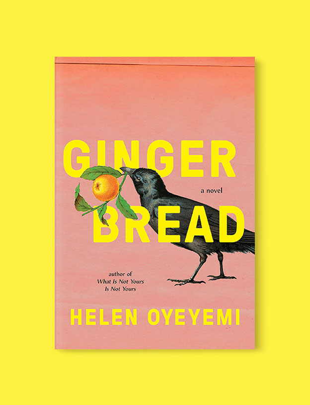 Best Book Covers 2019, Gingerbread by Helen Oyeyemi - book covers, book covers 2019, book design, best book covers, best book design, cover design, best covers, book cover design, book designers, design inspiration, cover design inspiration, book cover ideas, book design ideas, cover design ideas, book typography, book cover typography, book cover illustration, book cover design ideas