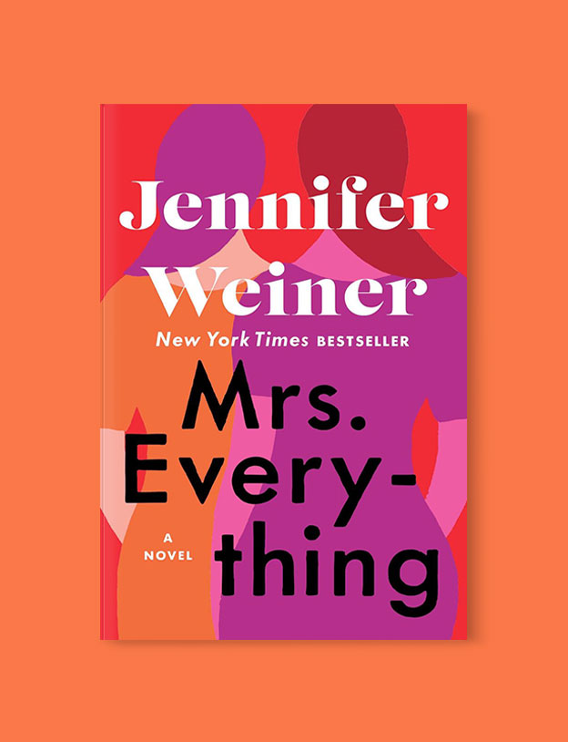 Best Book Covers 2019, Mrs. Everything by Jennifer Weiner - book covers, book covers 2019, book design, best book covers, best book design, cover design, best covers, book cover design, book designers, design inspiration, cover design inspiration, book cover ideas, book design ideas, cover design ideas, book typography, book cover typography, book cover illustration, book cover design ideas