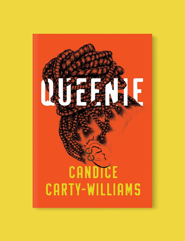 Best Book Covers 2019, Queenie by Candice Carty-Williams - book covers, book covers 2019, book design, best book covers, best book design, cover design, best covers, book cover design, book designers, design inspiration, cover design inspiration, book cover ideas, book design ideas, cover design ideas, book typography, book cover typography, book cover illustration, book cover design ideas