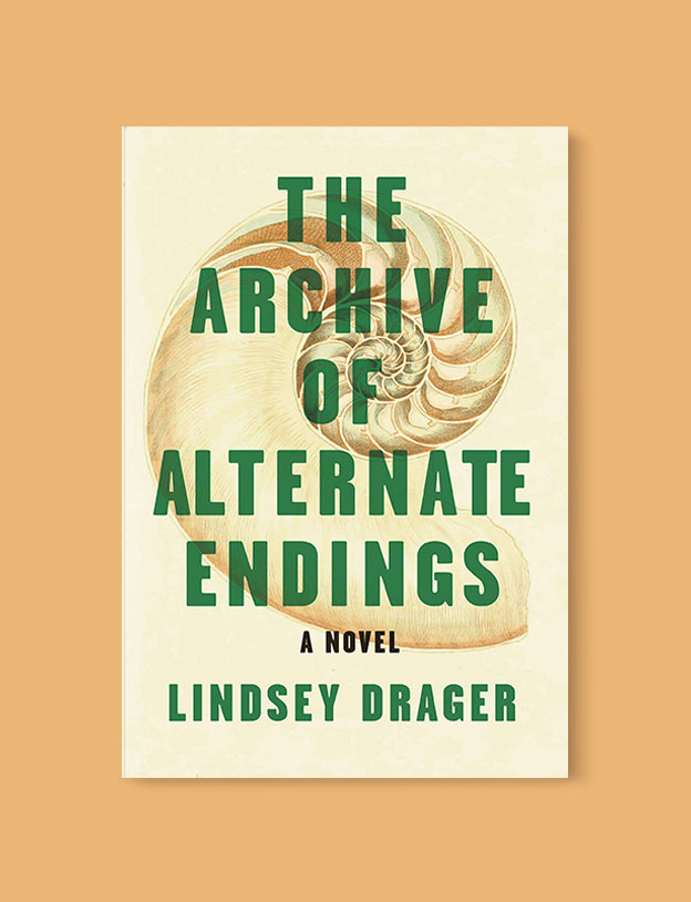 Best Book Covers 2019, The Archive of Alternate Endings by Lindsey Drager - book covers, book covers 2019, book design, best book covers, best book design, cover design, best covers, book cover design, book designers, design inspiration, cover design inspiration, book cover ideas, book design ideas, cover design ideas, book typography, book cover typography, book cover illustration, book cover design ideas