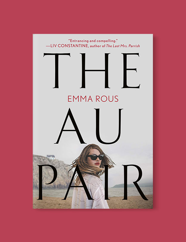 Best Book Covers 2019, The Au Pair by Emma Rous - book covers, book covers 2019, book design, best book covers, best book design, cover design, best covers, book cover design, book designers, design inspiration, cover design inspiration, book cover ideas, book design ideas, cover design ideas, book typography, book cover typography, book cover illustration, book cover design ideas