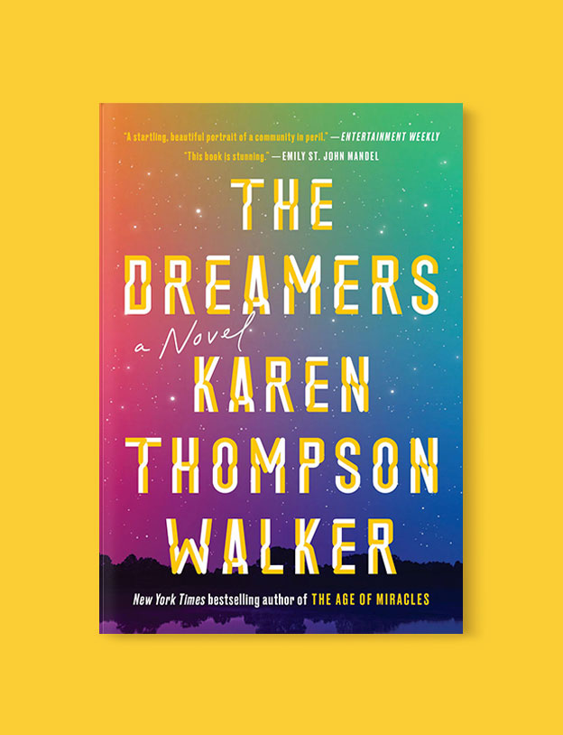 Best Book Covers 2019, The Dreamers by Karen Thompson Walker - book covers, book covers 2019, book design, best book covers, best book design, cover design, best covers, book cover design, book designers, design inspiration, cover design inspiration, book cover ideas, book design ideas, cover design ideas, book typography, book cover typography, book cover illustration, book cover design ideas