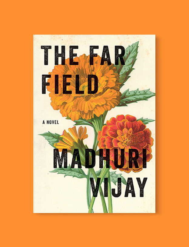 Best Book Covers 2019, The Far Field by Madhuri Vijay - book covers, book covers 2019, book design, best book covers, best book design, cover design, best covers, book cover design, book designers, design inspiration, cover design inspiration, book cover ideas, book design ideas, cover design ideas, book typography, book cover typography, book cover illustration, book cover design ideas