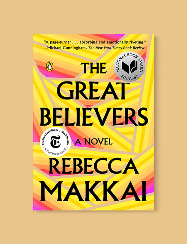 Best Book Covers 2019, The Great Believers by Rebecca Makkai - book covers, book covers 2019, book design, best book covers, best book design, cover design, best covers, book cover design, book designers, design inspiration, cover design inspiration, book cover ideas, book design ideas, cover design ideas, book typography, book cover typography, book cover illustration, book cover design ideas