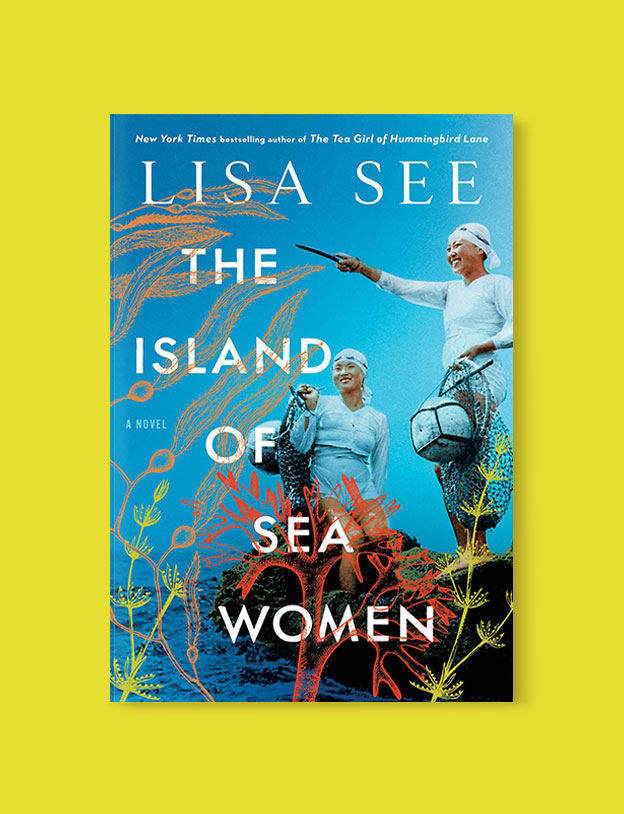 Best Book Covers 2019, The Island of Sea Women by Lisa See - book covers, book covers 2019, book design, best book covers, best book design, cover design, best covers, book cover design, book designers, design inspiration, cover design inspiration, book cover ideas, book design ideas, cover design ideas, book typography, book cover typography, book cover illustration, book cover design ideas