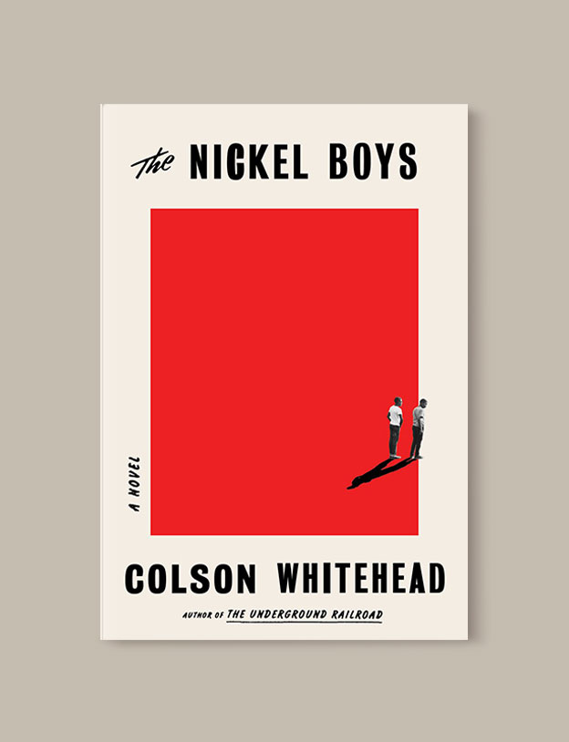 Best Book Covers 2019, The Nickel Boys by Colson Whitehead - book covers, book covers 2019, book design, best book covers, best book design, cover design, best covers, book cover design, book designers, design inspiration, cover design inspiration, book cover ideas, book design ideas, cover design ideas, book typography, book cover typography, book cover illustration, book cover design ideas