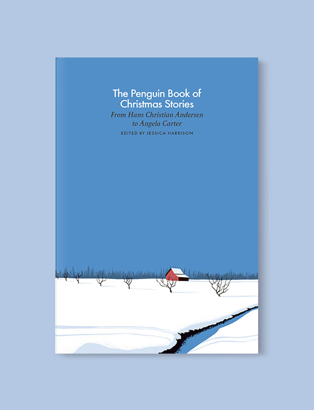 Best Book Covers 2019, The Penguin Book of Christmas Stories by Jessica Parkinson - book covers, book covers 2019, book design, best book covers, best book design, cover design, best covers, book cover design, book designers, design inspiration, cover design inspiration, book cover ideas, book design ideas, cover design ideas, book typography, book cover typography, book cover illustration, book cover design ideas