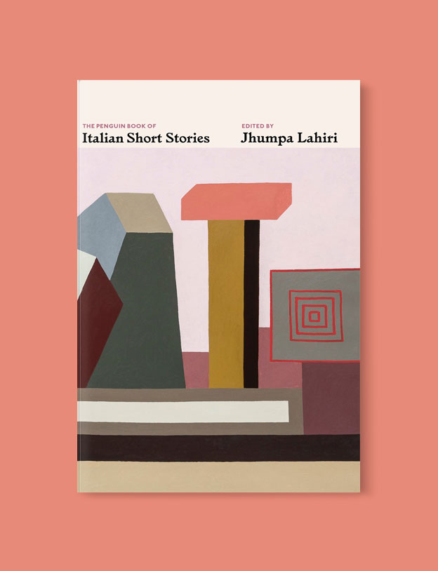 Best Book Covers 2019, The Penguin Book of Italian Short Stories by Jhumpa Lahiri - book covers, book covers 2019, book design, best book covers, best book design, cover design, best covers, book cover design, book designers, design inspiration, cover design inspiration, book cover ideas, book design ideas, cover design ideas, book typography, book cover typography, book cover illustration, book cover design ideas
