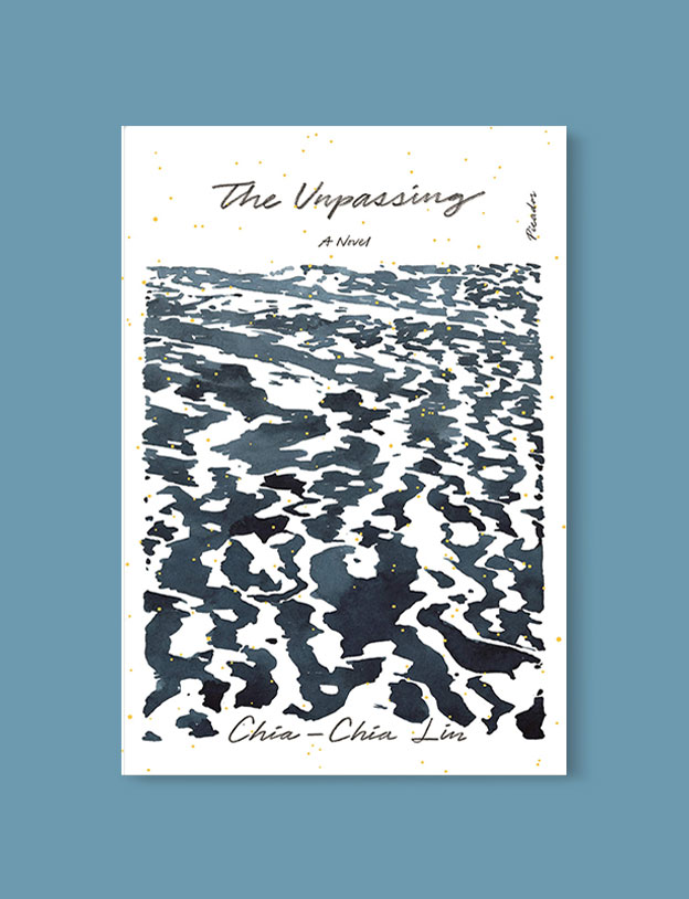Best Book Covers 2019, The Unpassing by Chia-Chia Lin - book covers, book covers 2019, book design, best book covers, best book design, cover design, best covers, book cover design, book designers, design inspiration, cover design inspiration, book cover ideas, book design ideas, cover design ideas, book typography, book cover typography, book cover illustration, book cover design ideas