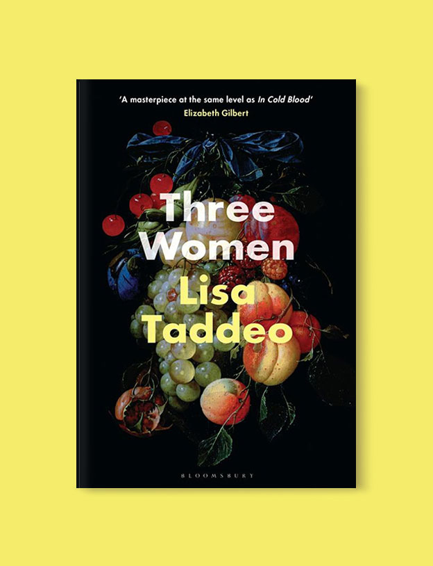 Best Book Covers 2019, Three Women by Lisa Taddeo - book covers, book covers 2019, book design, best book covers, best book design, cover design, best covers, book cover design, book designers, design inspiration, cover design inspiration, book cover ideas, book design ideas, cover design ideas, book typography, book cover typography, book cover illustration, book cover design ideas